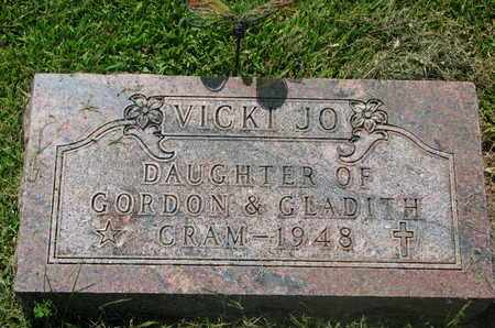 CRAM, VICKI JO - Burt County, Nebraska | VICKI JO CRAM - Nebraska Gravestone Photos