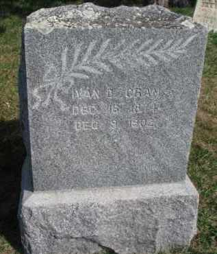 CRAN, IVAN D. - Burt County, Nebraska | IVAN D. CRAN - Nebraska Gravestone Photos