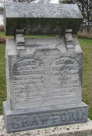CRAWFORD, GEORGE - Burt County, Nebraska   GEORGE CRAWFORD - Nebraska Gravestone Photos