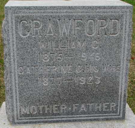 CRAWFORD, WILLIAM C. - Burt County, Nebraska | WILLIAM C. CRAWFORD - Nebraska Gravestone Photos