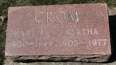 CROM, BERTHA ADA - Burt County, Nebraska   BERTHA ADA CROM - Nebraska Gravestone Photos