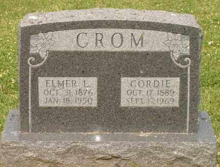CROM, CORDIE - Burt County, Nebraska | CORDIE CROM - Nebraska Gravestone Photos