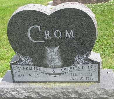 CROM, GEARLDINE J. - Burt County, Nebraska | GEARLDINE J. CROM - Nebraska Gravestone Photos