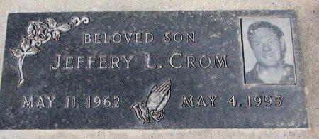 CROM, JEFFERY L. - Burt County, Nebraska | JEFFERY L. CROM - Nebraska Gravestone Photos