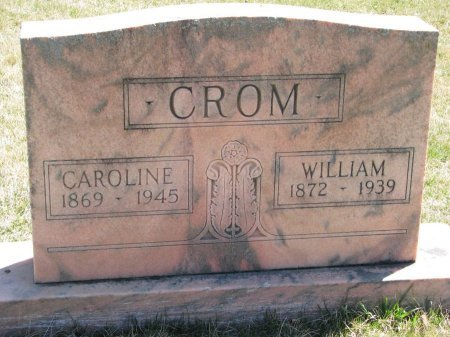 CROM, WILLIAM - Burt County, Nebraska | WILLIAM CROM - Nebraska Gravestone Photos