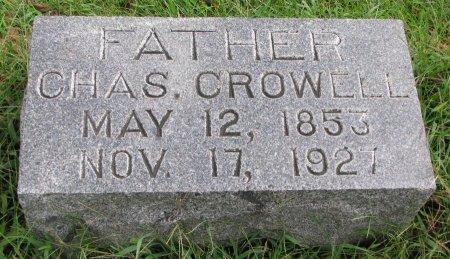 CROWELL, CHARLES - Burt County, Nebraska | CHARLES CROWELL - Nebraska Gravestone Photos