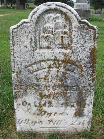 CROWELL, MARY M. - Burt County, Nebraska   MARY M. CROWELL - Nebraska Gravestone Photos
