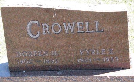 CROWELL, DOREEN H. - Burt County, Nebraska | DOREEN H. CROWELL - Nebraska Gravestone Photos