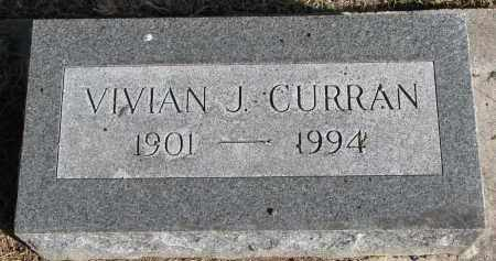 CURRAN, VIVIAN J. - Burt County, Nebraska | VIVIAN J. CURRAN - Nebraska Gravestone Photos