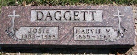 DAGGETT, HARVIE W. - Burt County, Nebraska | HARVIE W. DAGGETT - Nebraska Gravestone Photos
