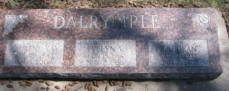DALRYMPLE, LAURENE KAY - Burt County, Nebraska | LAURENE KAY DALRYMPLE - Nebraska Gravestone Photos