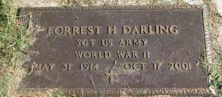 DARLING, FORREST H. (WW II) - Burt County, Nebraska   FORREST H. (WW II) DARLING - Nebraska Gravestone Photos
