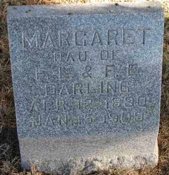 DARLING, MARGARET - Burt County, Nebraska | MARGARET DARLING - Nebraska Gravestone Photos