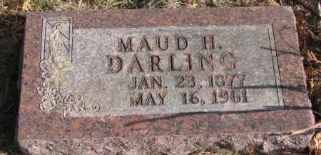 DARLING, MAUD H. - Burt County, Nebraska | MAUD H. DARLING - Nebraska Gravestone Photos