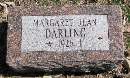 DARLING, MARGARET JEAN - Burt County, Nebraska   MARGARET JEAN DARLING - Nebraska Gravestone Photos