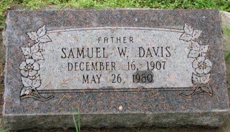DAVIS, SAMUEL W. - Burt County, Nebraska | SAMUEL W. DAVIS - Nebraska Gravestone Photos