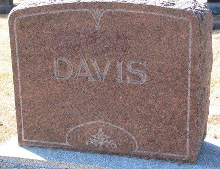 DAVIS, *FAMILY MONUMENT - Burt County, Nebraska | *FAMILY MONUMENT DAVIS - Nebraska Gravestone Photos
