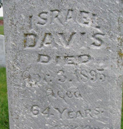 DAVIS, ISRAEL (CLOSE UP) - Burt County, Nebraska   ISRAEL (CLOSE UP) DAVIS - Nebraska Gravestone Photos
