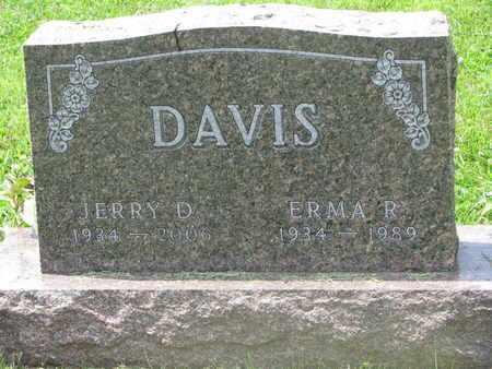 DAVIS, JERRY D. - Burt County, Nebraska | JERRY D. DAVIS - Nebraska Gravestone Photos