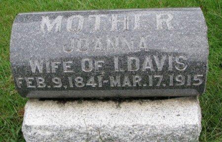 DAVIS, JOANNA - Burt County, Nebraska | JOANNA DAVIS - Nebraska Gravestone Photos