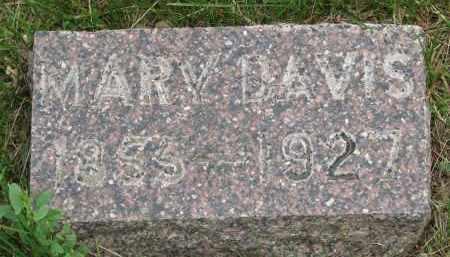 DAVIS, MARY - Burt County, Nebraska   MARY DAVIS - Nebraska Gravestone Photos