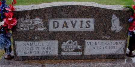 DAVIS, SAMUEL D. - Burt County, Nebraska | SAMUEL D. DAVIS - Nebraska Gravestone Photos