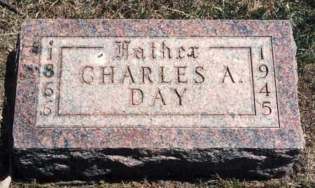 DAY, CHARLES A. - Burt County, Nebraska | CHARLES A. DAY - Nebraska Gravestone Photos