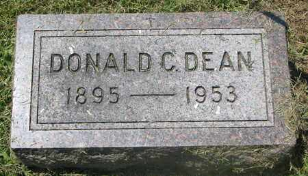 DEAN, DONALD C. - Burt County, Nebraska   DONALD C. DEAN - Nebraska Gravestone Photos