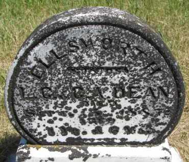 DEAN, ELLSWORTH - Burt County, Nebraska   ELLSWORTH DEAN - Nebraska Gravestone Photos