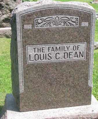 DEAN, (FAMILY MONUMENT) - Burt County, Nebraska | (FAMILY MONUMENT) DEAN - Nebraska Gravestone Photos