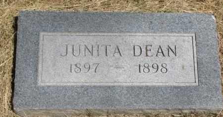 DEAN, JUNITA - Burt County, Nebraska | JUNITA DEAN - Nebraska Gravestone Photos