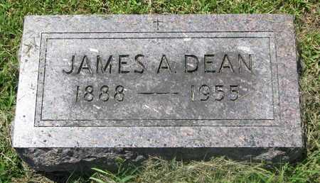 DEAN, JAMES A. - Burt County, Nebraska | JAMES A. DEAN - Nebraska Gravestone Photos