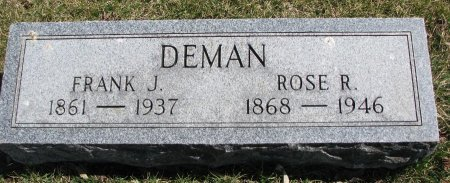 DEMAN, FRANK J. - Burt County, Nebraska | FRANK J. DEMAN - Nebraska Gravestone Photos