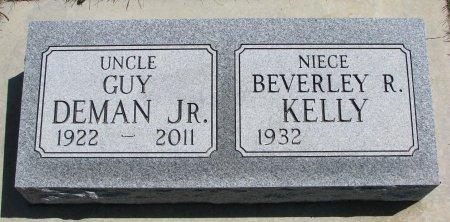 DEMAN, GUY JR. - Burt County, Nebraska | GUY JR. DEMAN - Nebraska Gravestone Photos