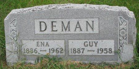 DEMAN, ENA - Burt County, Nebraska   ENA DEMAN - Nebraska Gravestone Photos