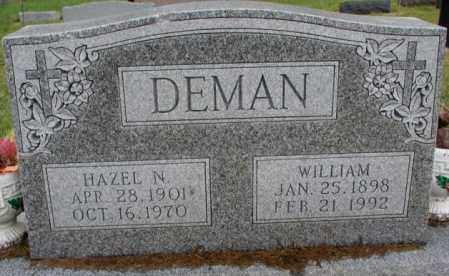DEMAN, HAZEL N. - Burt County, Nebraska | HAZEL N. DEMAN - Nebraska Gravestone Photos