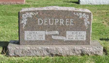 DEUPREE, DORA C. - Burt County, Nebraska   DORA C. DEUPREE - Nebraska Gravestone Photos