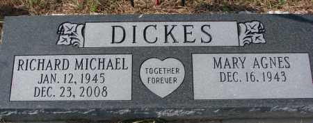 DICKIES, MARY AGNES - Burt County, Nebraska | MARY AGNES DICKIES - Nebraska Gravestone Photos