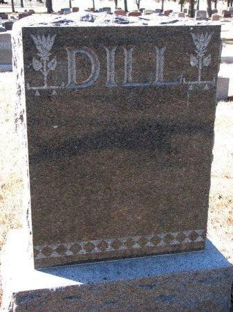 DILL, *FAMILY MONUMENT - Burt County, Nebraska   *FAMILY MONUMENT DILL - Nebraska Gravestone Photos
