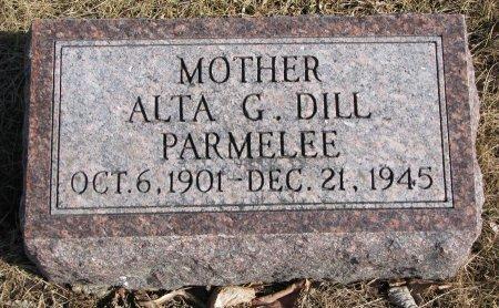 DILL, ALTA G. - Burt County, Nebraska | ALTA G. DILL - Nebraska Gravestone Photos