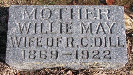 DILL, WILLIE MAY - Burt County, Nebraska | WILLIE MAY DILL - Nebraska Gravestone Photos
