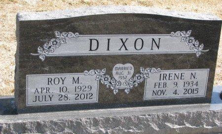 KLASE DIXON, IRENE NAOMI - Burt County, Nebraska   IRENE NAOMI KLASE DIXON - Nebraska Gravestone Photos
