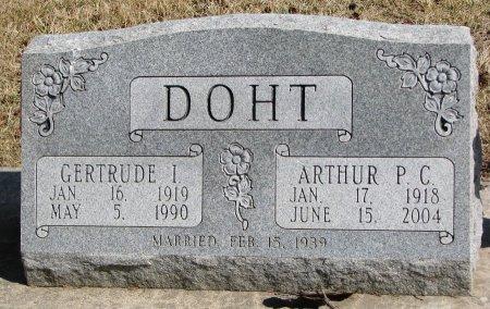 DOHT, GERTRUDE ISABEL - Burt County, Nebraska | GERTRUDE ISABEL DOHT - Nebraska Gravestone Photos