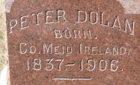 DOLAN, PETER (CLOSE UP) - Burt County, Nebraska   PETER (CLOSE UP) DOLAN - Nebraska Gravestone Photos