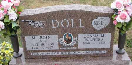 DOLL, DONNA M. - Burt County, Nebraska | DONNA M. DOLL - Nebraska Gravestone Photos