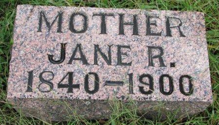 DOOLITTLE, JANE R. - Burt County, Nebraska   JANE R. DOOLITTLE - Nebraska Gravestone Photos