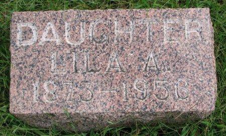 DOOLITTLE, LILA A. - Burt County, Nebraska | LILA A. DOOLITTLE - Nebraska Gravestone Photos