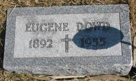 DOWD, EUGENE - Burt County, Nebraska   EUGENE DOWD - Nebraska Gravestone Photos