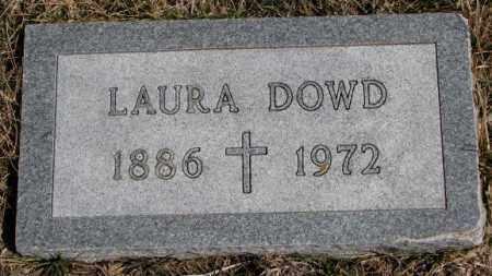 DOWD, LAURA - Burt County, Nebraska   LAURA DOWD - Nebraska Gravestone Photos