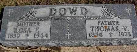 DOWD, ROSA E. - Burt County, Nebraska | ROSA E. DOWD - Nebraska Gravestone Photos
